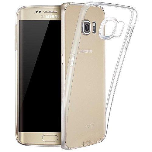 LONVIPI Cover Trasparente per Galaxy S6 Edge Custodia Sottile