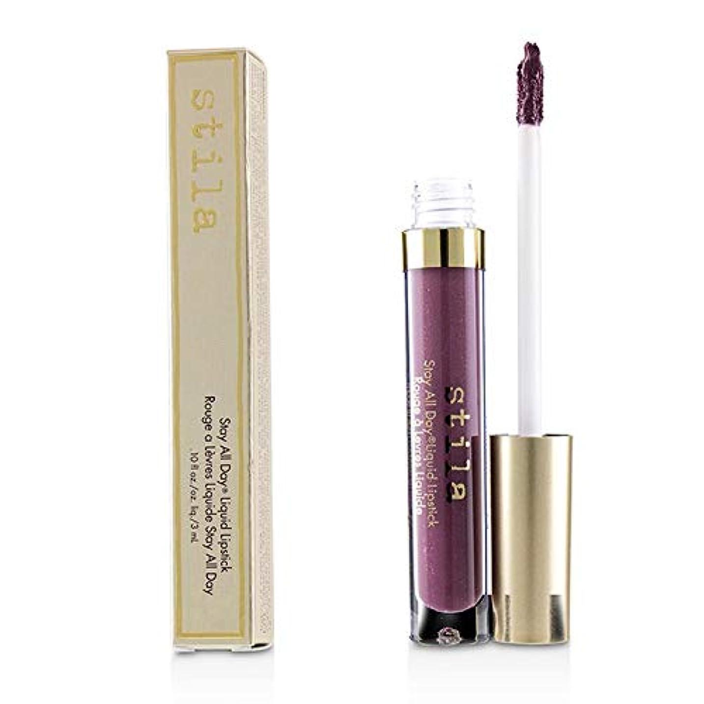 農業の加速する花スティラ Stay All Day Liquid Lipstick - # Amore (Deep Plum Sheen) 3ml/0.1oz並行輸入品