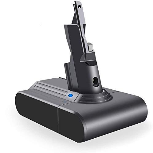 DTK Bateria para Dyson V7 SV11 Animal Trigger Trigger+ Motorhead Pro Fluffy Mattress Aspiradora 21.6V 2000mah