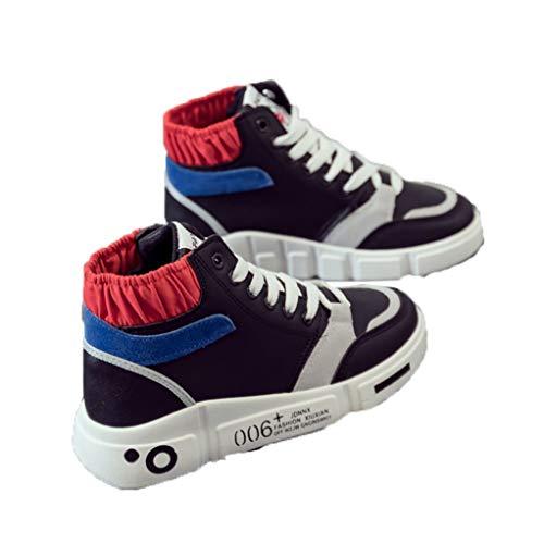 High Top Trainer Für Frauen Mixed Color Sport Laufen Wandern Flats Spring Basketball Sneakers Plattform Casual Schnür Jogging Schuhe