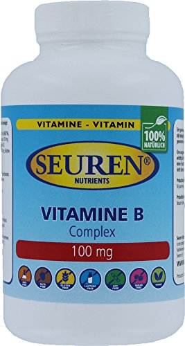Seuren Nutrients Vitamine B Complex 100 mg 200 Tabletten