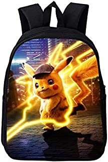 Pokemon Pokemon Cartoon Anime Primary and Secondary School Computer Backpack Pikachu 3D Backpack