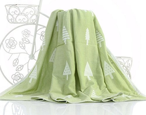 Maison Jardin Couverture de Coton tissé Premium,Couverture de Coton Respirant et Couette pour lit et canapé/canapé par Utopia Bedding