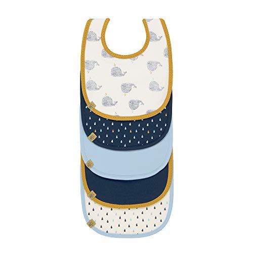 Lässig Little Water Boys 1311002452 Set Bavaglini Impermeabile per Bebè, 3-18 Mesi, Multicolore