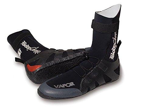 Body Glove Shoes Surf Guantes Vapor Unisex schw.De Color Rojo Agua Guantes Boot Kite Canoa Onda Jinete Boot Guantes, Negro