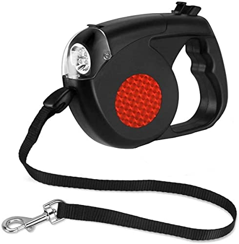 Ropniik Correa retráctil para perros con sistema de bloqueo para perro pequeña extensible pequeños y medianos retráctiles 16cm*11cm*4cm 300g
