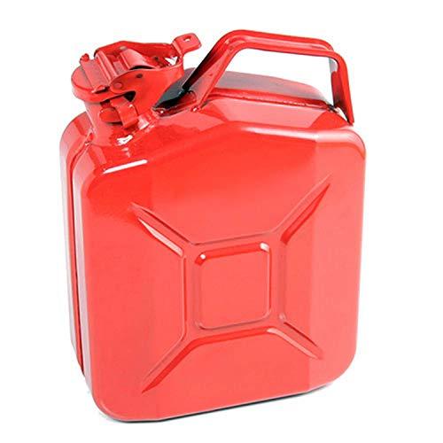 5 Litros Rojo Bidón para Combustible Gasolina Diesel Etc