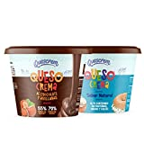 Caja Especial Niños: Pack Quesos Crema Infantiles: mix de 6x150g QC Junior (3xQC Chocolate y Avellanas, 3xQC Rico en Hierro)