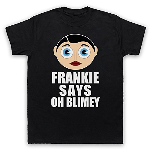 Frankie Says Oh Blimey! Funny Frank Sidebottom T-shirt - S to XXL