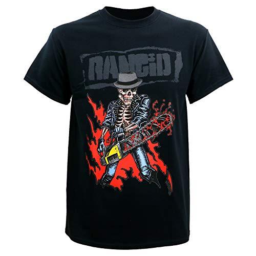 Rancid Chainsaw Skele-Tim Men T-Shirt S-3Xl