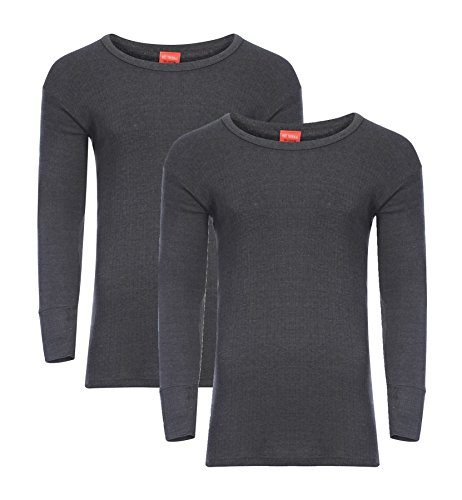 Heatwave® - Pack De 2 Camisetas Térmicas De Manga Larga Para Hombre (Talla S, M, L, XL, XXL)