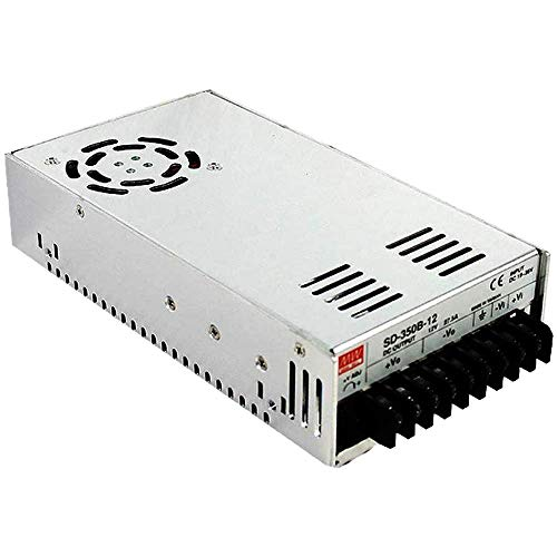 Mean Well SE-350-12 Power Supply, Enclosed, Switching, 350 W, 12 VDC, 29 Amp, 8.5