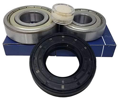 doka - Juego de rodamientos de bolas 6206 ZZ 6207ZZ, junta de eje, 40,2 x 72 x 11/14 lavadora AEG Electrolux