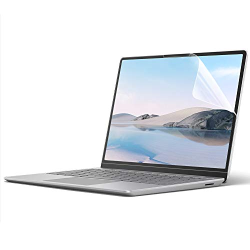 ProElife 2-Pack Clear Screen Protector for Microsoft Surface Laptop Go 12.4 inch 2020 Touchscreen Accessories Protector, Anti-Fingerprint/Anti-scratch, (Installation Tools Included) (Crystal Clear)