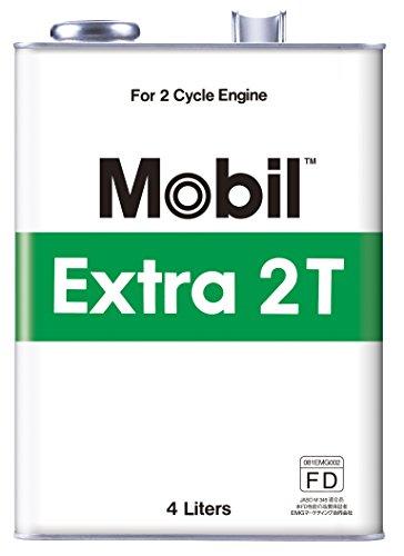 Mobil エンジンオイル エクストラ 2T TC 2サイクルエンジンオイル 4L [HTRC3]