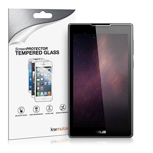 kwmobile Glas Bildschirmschutzfolie kompatibel mit Asus ZenPad C 7.0 (Z170C / Z170CG) - Tablet Schutzglas Folie Schutzfolie Bildschirmschutz Glasfolie in kristallklar