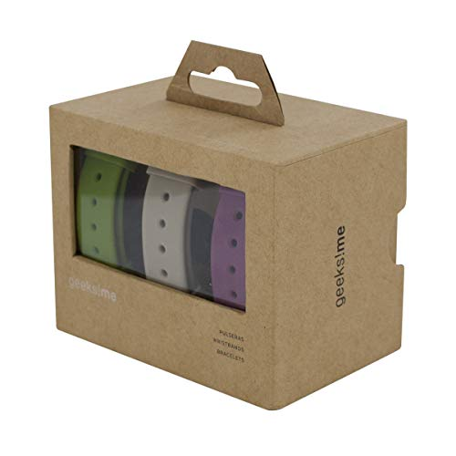 Geeks!me GMCOPACK - Pack de 3 Correas de Colores para Reloj