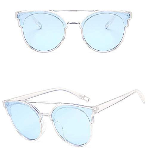 chuanglanja Gafas De Sol Mujer Joven Gafas De Sol De Mariposa Vintage Para Mujer Lentes De Océano De Plástico Gafas De Sol Clásicas Retro Al Aire Libre-Color-U