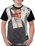 'N/A' Jean Michel Basquiat - Camiseta de manga corta con cuello redondo y estampado en 3D para hombre