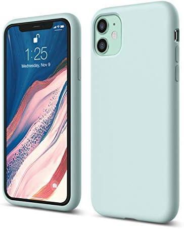 """elago Liquid Silicone Case Designed for iPhone 11 Case (6.1""""), Premium Silicone, Full Body Protection : 3 Layer Shock..."""