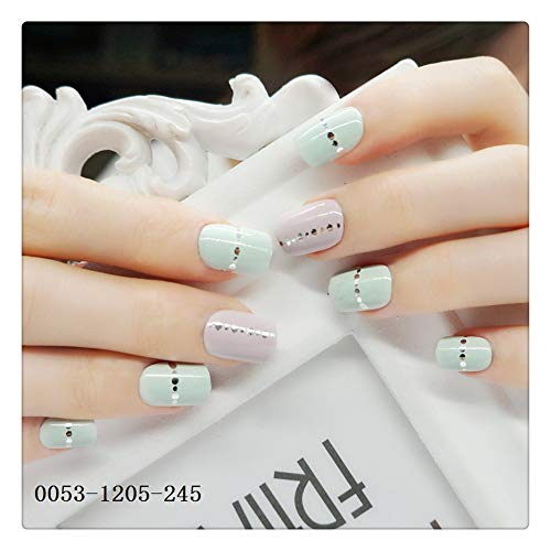 Faux Ongles Gommage Tendance De La Mode Faux Ongles Ballet Armure Nails Terminé Nail Art Faux Nail Patch Craft Set
