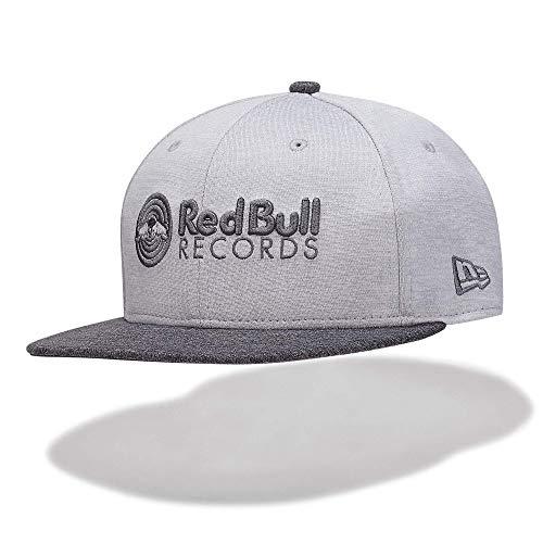 Red Bull Records New Era 9Fifty Mono Snapback Beret, Noir Unisexe Taille Unique Casquette Plate, Records Vêtements & Merchandise Originale