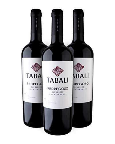 Tabali Pedregoso Carmenère Gran Reserva Vino Tinto - Cachapoal, Chile - Pack de 3 Bot. 75 cl
