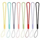 Wrist Straps Hand Lanyards Waterproof Small Liquid Silicone Rubber Charms for Phone Camera...