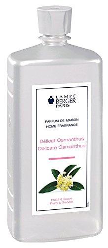 Lampe Berger délicat Osmanthus Parfum, Plastique, Transparent, 7,5 x 6 x 19 cm, 1 unités