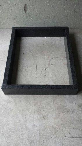 ABC Grabeinfassung Grabumrandung Urnengrab 80cm x 80cm Höhe 15cm Stärke 6cm