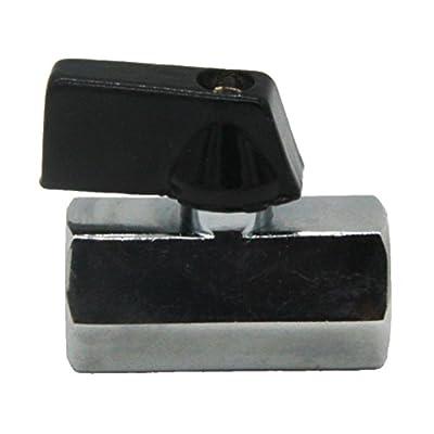 MagiDeal Mini Brass Internal Thread Brass Ball Valve Air Compressor Hose Fitting