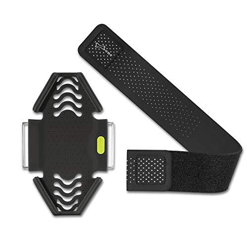Bone Combo-Set Sportarmband für Handy, Leicht Handyhalter zum Joggen Handytasche Laufen, Handy Halterung Arm Band für Smartphone - Inkl. Alle 3 Größen – Schwarz