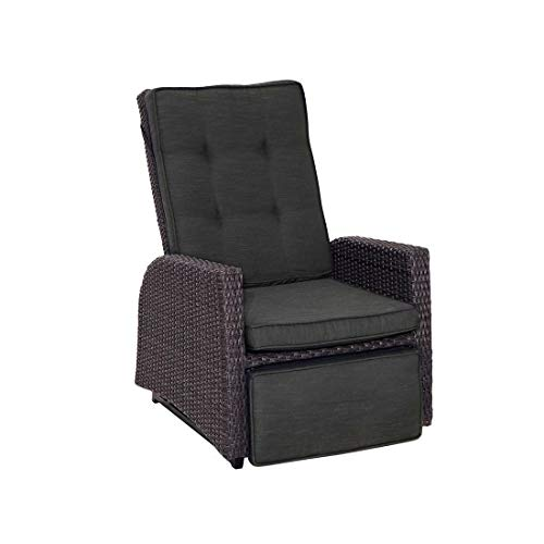 FAUTEUIL RESINE TRESSEE MULTIPOSITIONS