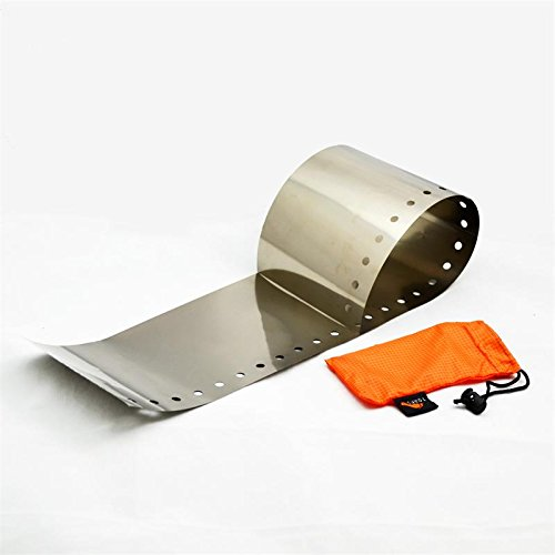 TOAKS (トークス) チタニウム ウインドスクリーン 超軽量15g 風防 WSC-01 【日本正規品】