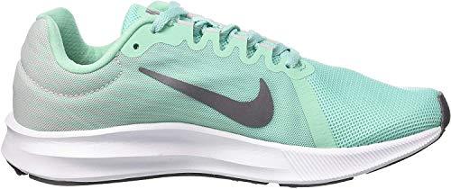 Nike Wmns Downshifter 8, Zapatillas de Entrenamiento para Mujer, Verde (Emerald Rise/Gunsmoke-Vast Grey-Black 300), 38.5 EU