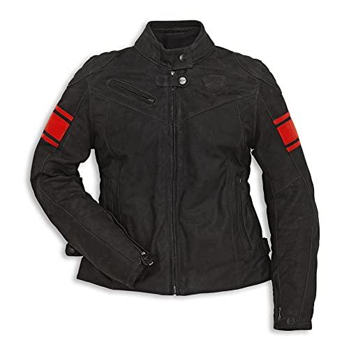 Ducati Dainese Classic C2 Damen Lederjacke schwarz Größe 42