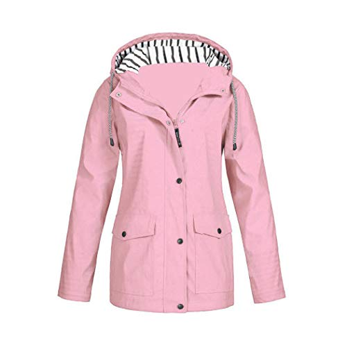 Azastar outwear Damesjack, outdoorjas, lang, waterdicht, windjack