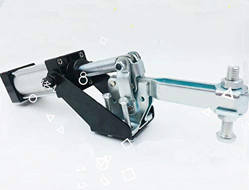 Ochoos DE-STA-CO Pneumatic Hold Down Clamp 450KG Holding Capacity 407mm Length 12047 LXM