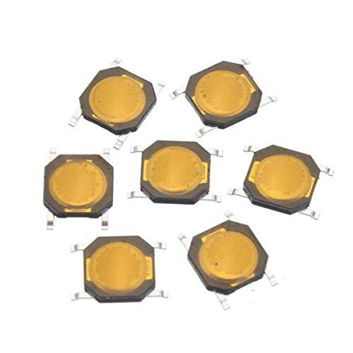 SHANG-JUN Fácil de Montar Interruptor de Tacto SMT SMD táctil de Membrana Interruptor de botón SPST-NA 4x4x0.8mm 50pcs Conveniente