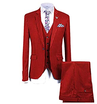 Best red pinstripe suit Reviews