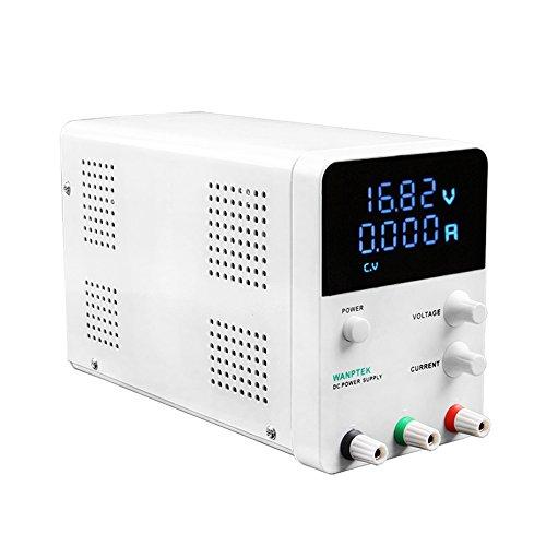 KKmoon Voltage Regulator Switching 4 Digits Blau LED Display Schalter Labor DC Stromversorgung 0-60V 0-5A Mini DC Stromversorgung Präzisions Variable Einstellbar AC 115V/230V 50/60Hz