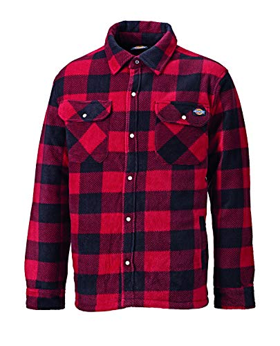 Photo of Dickies Portland Padded Shirt Red – XL, Red