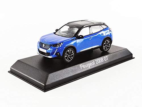 ノレブ 1/43 プジョー e-2008 GT 2020 ブルー