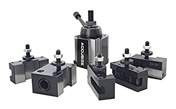 Accusize Industrial Tools Bxa 6 Pc Wedge Type Quick Change Tool Post Set for Lathe Swing 10-15   0251-0222