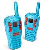Kidzlane Voice Changing Walkie Talkies for Kids - 2 Mile Range, 8 Channels, Flashlight, Call Alert