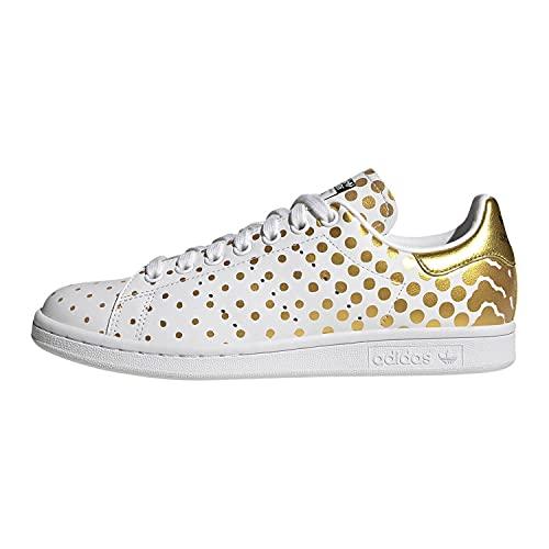 adidas Stan Smith Blanco lunares Oro, Dorado (dorado), 37 EU