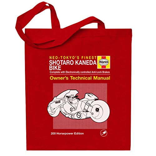 Cloud City 7 Shotaro Kaneda Bike Haynes handboek Akira Totebag
