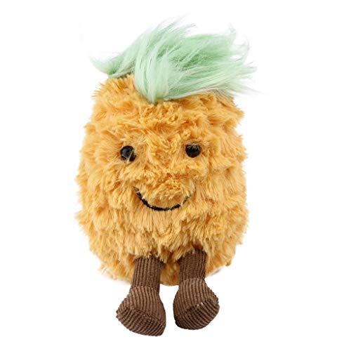 hahuha Toy Rucksack Zubehör süße Plüsch Spielzeug Ananas Kopf weich gefüllte Puppen Geschenk
