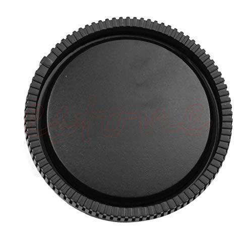 Runrain Objektivdeckel für Sony E-Mount NEX-3 NEX-5, Schwarz