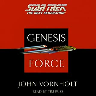 Star Trek, The Next Generation: The Genesis Force (Adapted) cover art